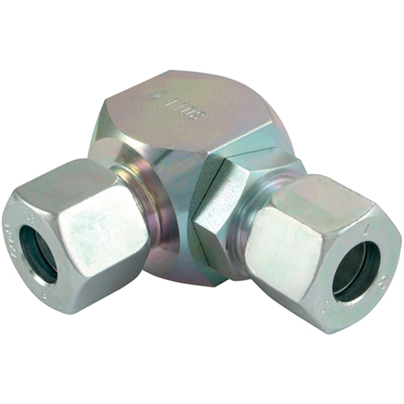 Swivel Elbow Banjo Coupling, Tube To Tube, Light Duty OutsIDe Diameter 35mm