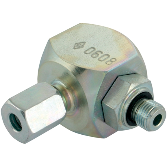 Swivel Banjo Couplings, BSPP, Light Duty, Thread Size 1.1/2'', OD 42mm