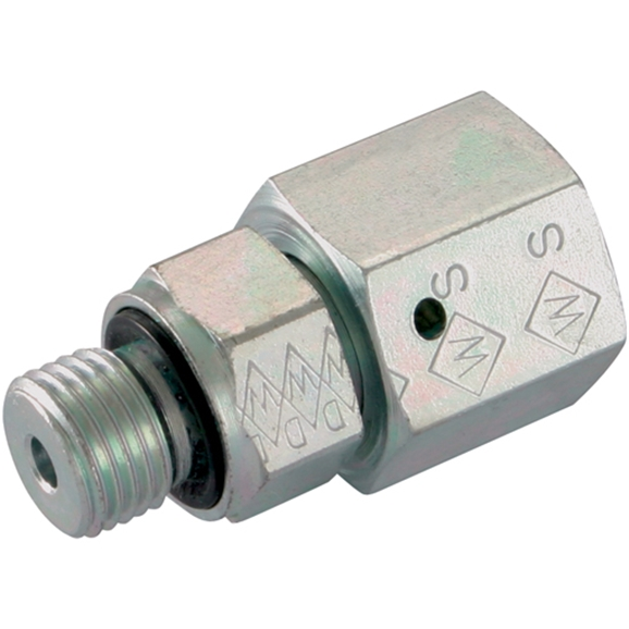 Standpipes, BSPP, Light Duty, Thread Size 1/2'', OD 15mm
