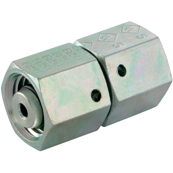 Straight Couplings, Unequal Straight, Heavy Duty, OutsIDe Diameter A 12mm, OutsIDe Diameter B 6mm