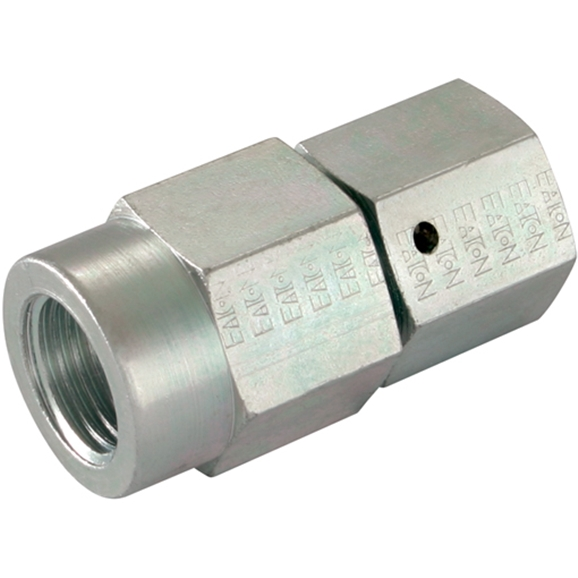 Female Gauge Couplings, BSPP, Swivel, Heavy Duty, Thread Size 1/2'', OD 6mm