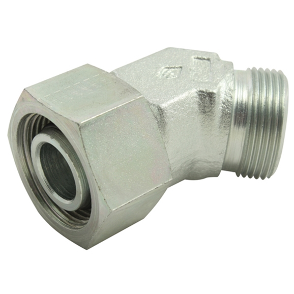 45? Swivel Elbow, Light Duty, Outside Diameter 12mm