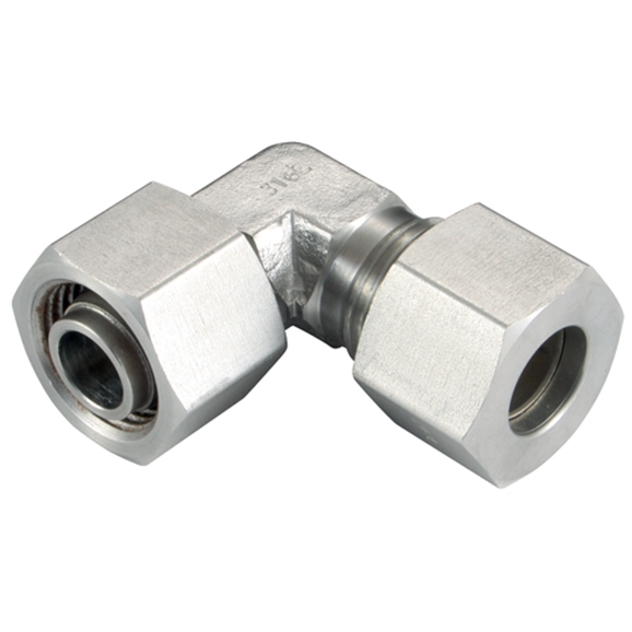 Adjustable Elbows, L Series, Metric, Female Thread Size M36 X 2, OD 28mm