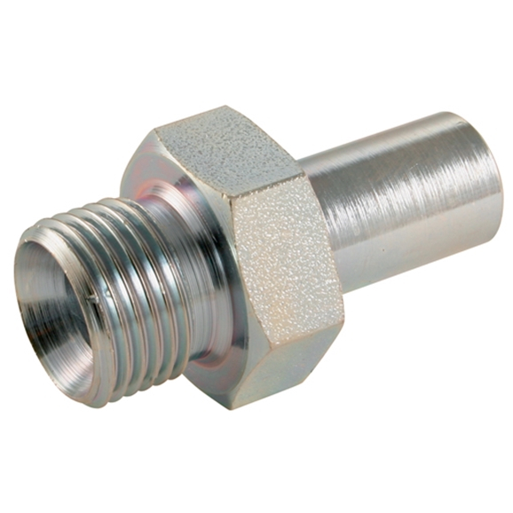 Metric Standpipe Adaptors, BSPP, S Series, Thread Size 3/8'', Outside Diameter 10mm