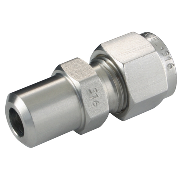 "Weld Union, Connectors, Tube x Tube, hose OD 3/4"""", stem hose OD 3/4"""""