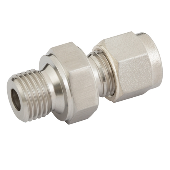 "Male Connectors, Male Thread-RS, 1/8"" BSPT, Tube OD 3mm"