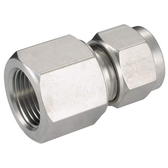 "Female Connectors, Female Thread, 1"" BSPT, hose OD 25mm"