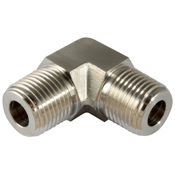 Equal Elbows, Male, NPT, Thread Size 3/8''