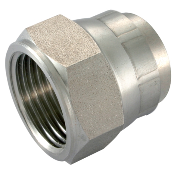 Stainless Steel Swivel Caps, UNF 1.1/16'' -12