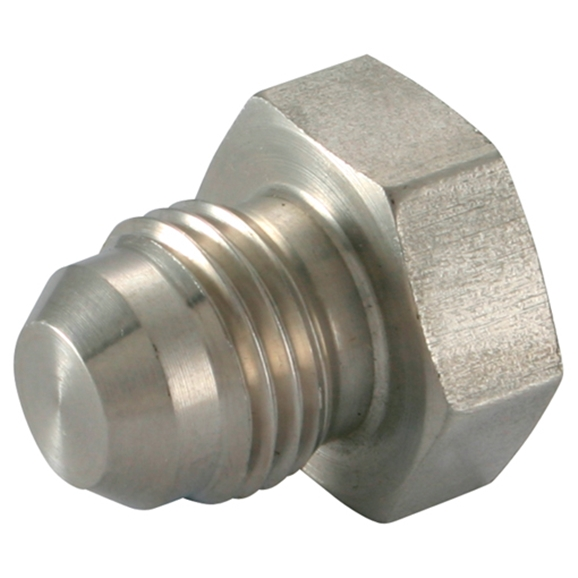Stainless Steel Blanking Plug, UNF 1.5/8''-12