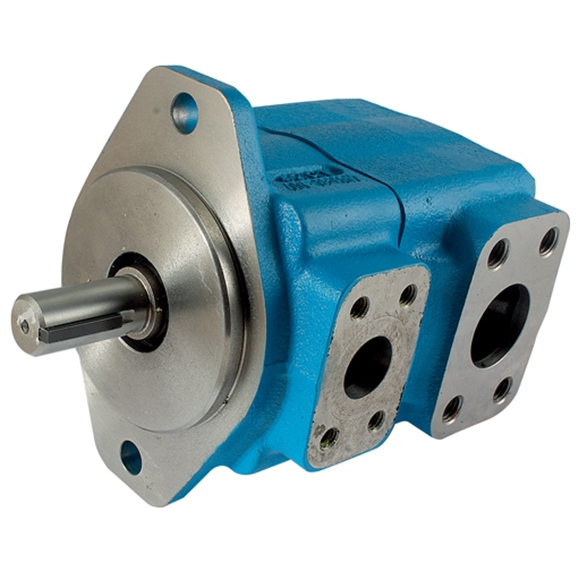25VSeries, SAE B 2 Bolt Mounting, Keyed Shaft, SAE Flanged Ports, Displacement 67 cc/rev, Maximum Pressure 172bar