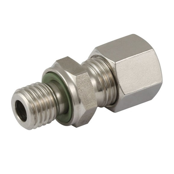 Male Stud Couplings, S Series, NPT, Thread Size 1/8'', OD 6mm