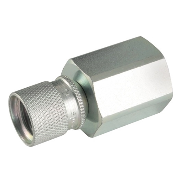 "Spradow Gauge Adaptor, 316 Stainless Steel, 1/2"" BSPP, 630 bar"
