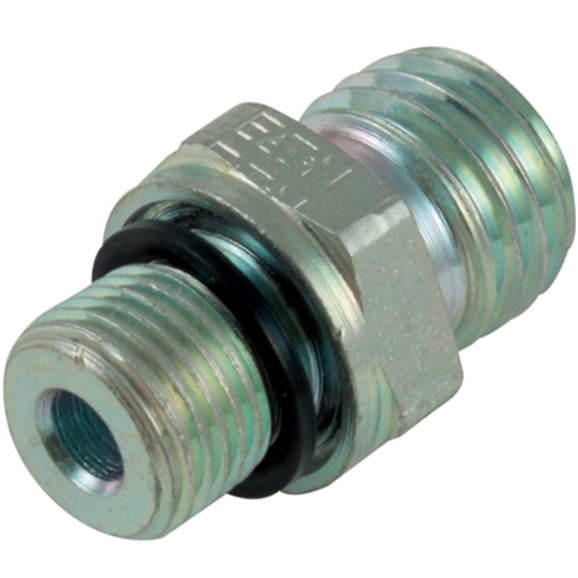 Male Stud Coupling, Light Duty, WD Seal, BSPP Thread Size 1/8'', OD 6mm