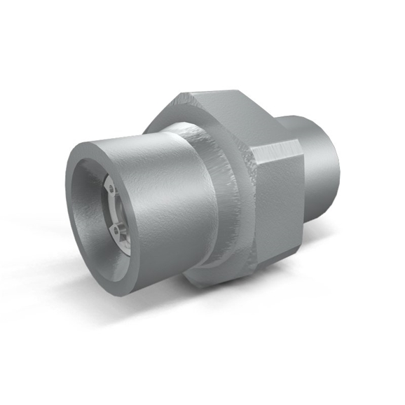 Hydraulic In-line Male Check Valve, VU MM 1 1/2""