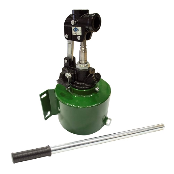 GL Single Acting 20cc Hydraulic Hand Pump with 2 Litre Tank, Release Valve and Hand Lever, for Single Acting Cylinder