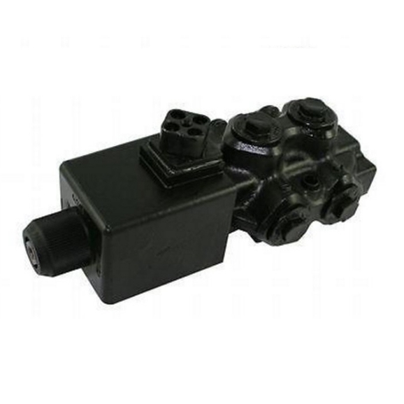 "Hydraulic 6 Way Solenoid Diverter, 3/8"" BSP 12V DC"