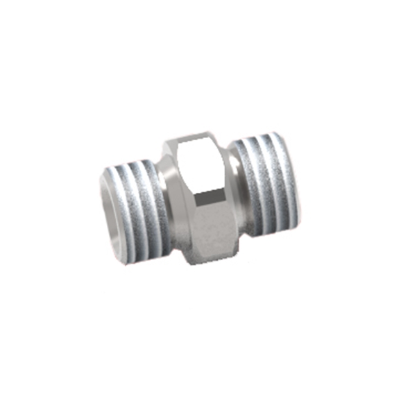 "GL Stainless Steel Check Valve, Male-Male, 1/4"" BSP Ports"
