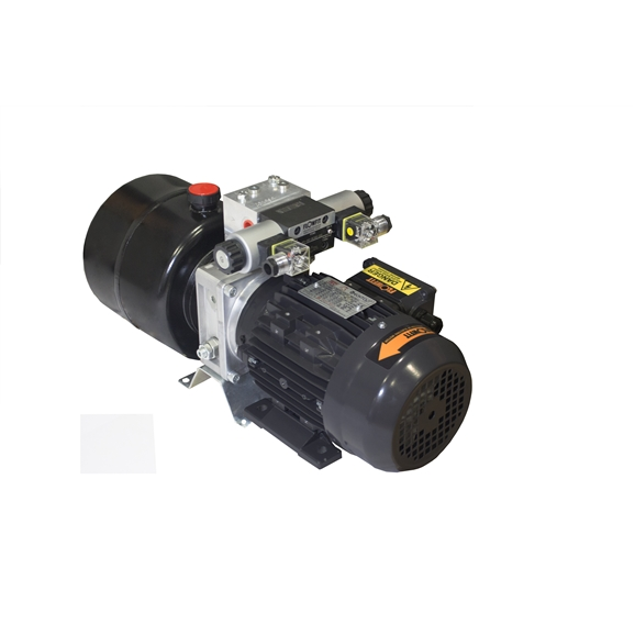 Flowfit Hydraulic AC Power unit, 415v, 3 phase, Double Acting Circuit, 0.55Kw, 1.08L/min