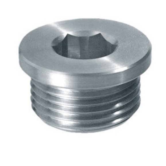 "Hydraulic drain filling plug with hex slot, 1/4"" BSP, TCE1G"