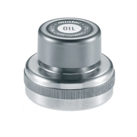 "Hydraulic Female threaded plug with breather and cover, 1"" BSP, for use with Oil"