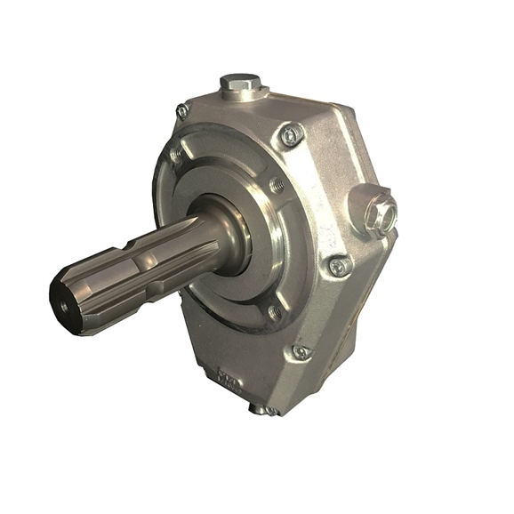 Hydraulic series 71000 PTO gearbox, group 3 Male shaft, ratio 1:3,5 20Kw 34-71001-5