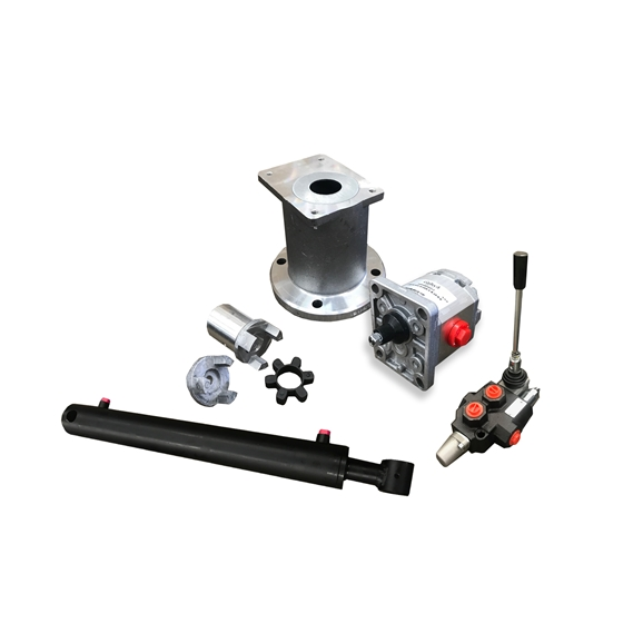 Log Splitter Kit With A Flowfit Double Acting Lever Valve For A Honda / Loncin Engine