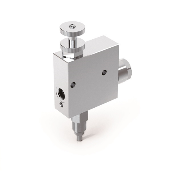 "Hydraulic 3 Way Flow Control Valve With Excess to Tank And Relief Valve, RFP3 3/8"" c/VMP"