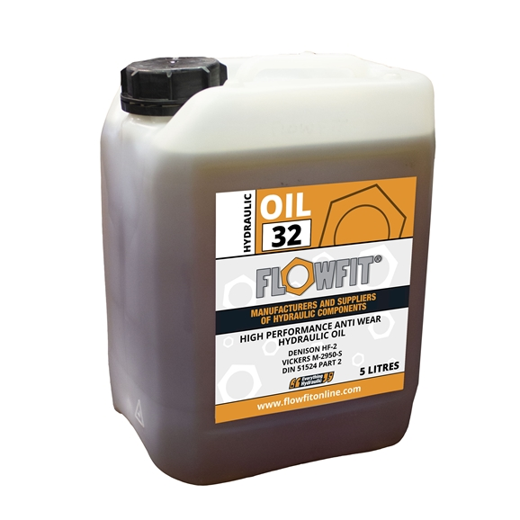 Flowfit Hydraulic Oil, ISO 32, 5 Litre