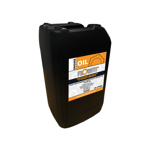 Flowfit Heavy Duty Engine 15w40 Oil, 25 Litres