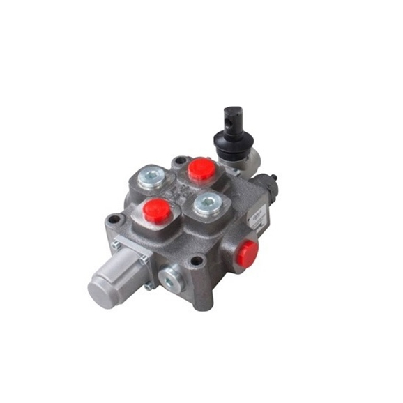 Galtech 1 bank, 3/4 BSP, 120 l/min Double Acting Cylinder Spool 3 Position, Spring Return Hydraulic Monoblock Valve